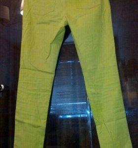 Брюки в джинсовом стиле (46)
