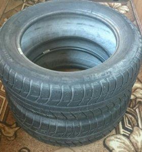 Шины Michelin 205/55R16 всесезон 2 штуки