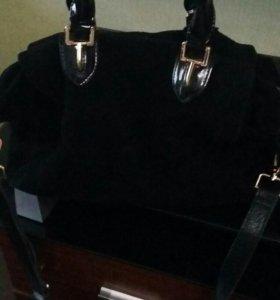 B.Oalengi сумка замшевая
