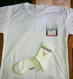Футболка с носками