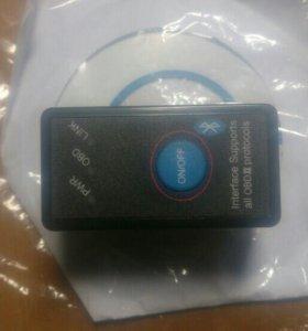 OBD-2 v1.5 Блютус сканер с кнопкой выключения