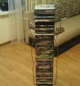 Подставка с dvd дисками