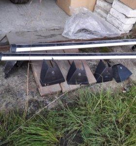 Рейлинги на крышу Фиеста/Фьюжен