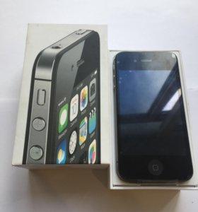 Apple iPhone 4s 16gb (Черный) Новый Оригинал