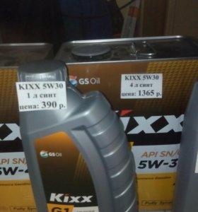 Масло kixx 5w30 4 литра