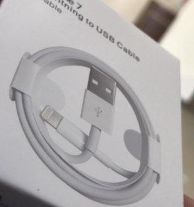 Новый USB кабель на iPhone