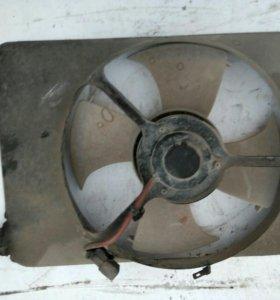 Вентилятор с диффузором Хонда