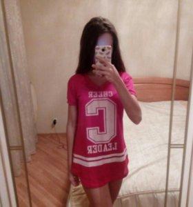 Туника футболка майка cheerleader