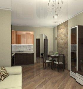 Квартира, студия, 20.8 м²
