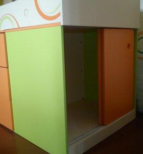 Детская кровать—шкаф