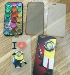 Чехлы на iPhone, Samsung 5s,6,6s,7,7+,8,8+