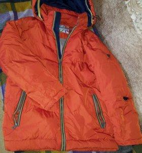 Куртка на пуху ( зима) 158 рост