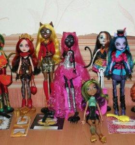 "Куклы ""Monster High"" и ""Ever After High"""