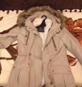 Куртка-парка (покупалась за 5500, подстежка есть)