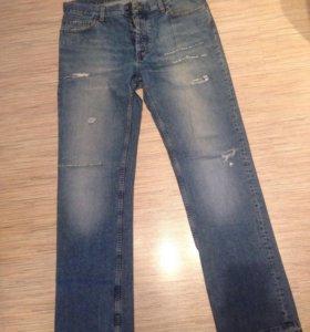 Мужские джинсы Sisley 52 размер