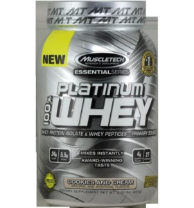 Протеин Muscletech Platinum whey essential