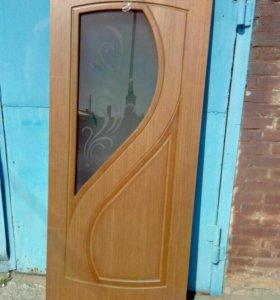 Дверь шпон