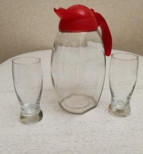 Графин со стаканами luminarc