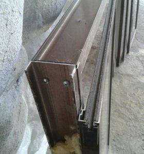 Окна алюминий на балкон