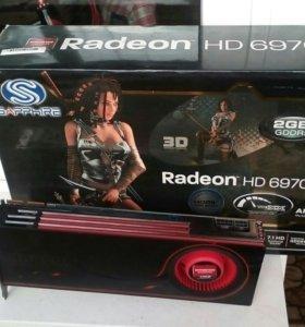 Видеокарта HD 6970 на 2 gb