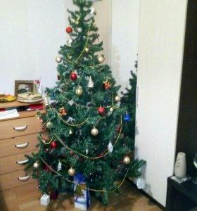 Новогодняя елка искуственная разборная