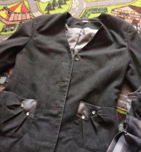 Пиджак на 1-2 класс