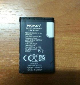 Аккумулятор 🔋 для Nokia
