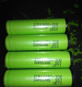 Аккумулятор Samsung 3000 мА 18650 с защитой