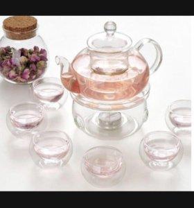Набор чайник+ подставка