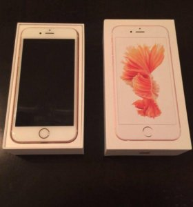 iPhone 6s 16 gb rosegold