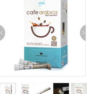 Atomy Cafe Arabica * 1box ( 200sticks) Атоми кофе