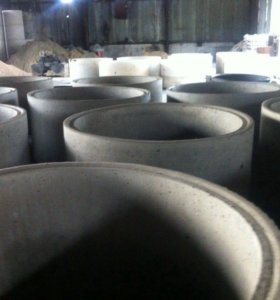 Железобетонные, бетонные кольца