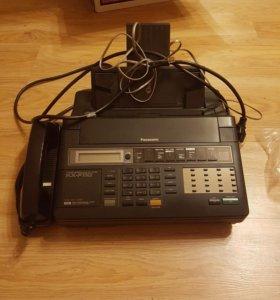 Телефон факс Panasonic KX-F110 рабочий