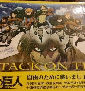 Набор Атака титанов из Японии