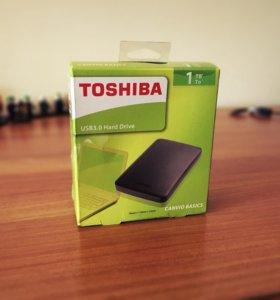 HDD TOSHIBA CANVIO BASICS 1000GB