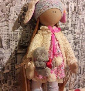 Интерьерная кукла. ручная работа