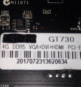 GT 730 4G DDR5 128bit