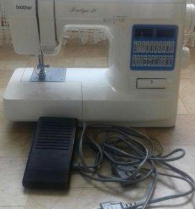 Машинка швейная, электрическая. Новая