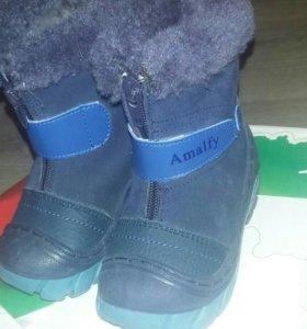 Зимние сапожки Amalfy