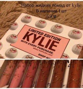 Набор жидких помад от Kylie