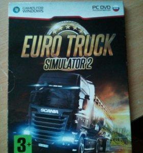 Игра на ПК Euro Truck Simulator 2