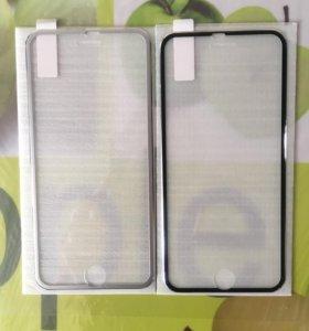 Защитные стекла на айфон 6/6plus