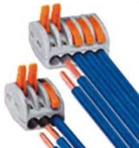 Разъёмы проводов 2-3-5 рычажные
