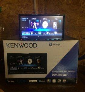 Авто магнитола Kenwood 2DIN DVD , USB , HDMI