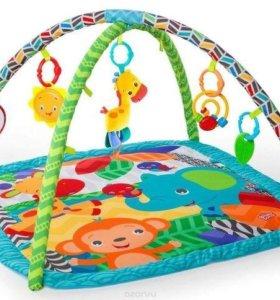 Детский развивающий игровой коврик!