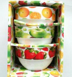 Набор керамических салатников