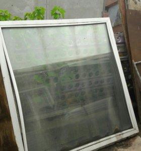 Балкон пластик окно Дверь