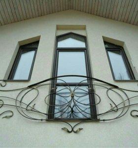 Цветные окна и двери Рехау
