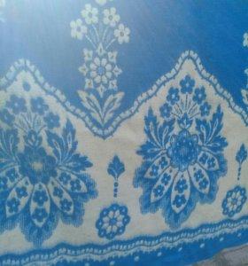 Шерстяное теплое одеяло