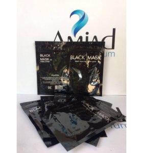 Чёрная маска для лица 50g